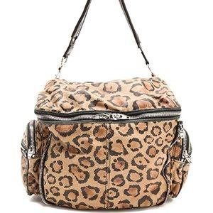 Alexander Wang Leopard Jane Bag